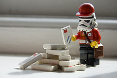 Lego Stormtrooper Mail Postman