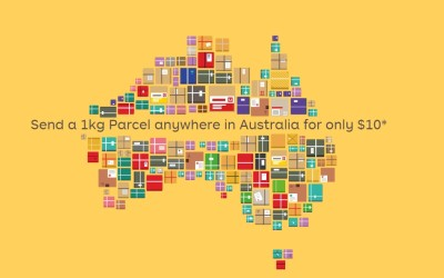 Australia Post Special – 1 kg anywhere in AUS for $10